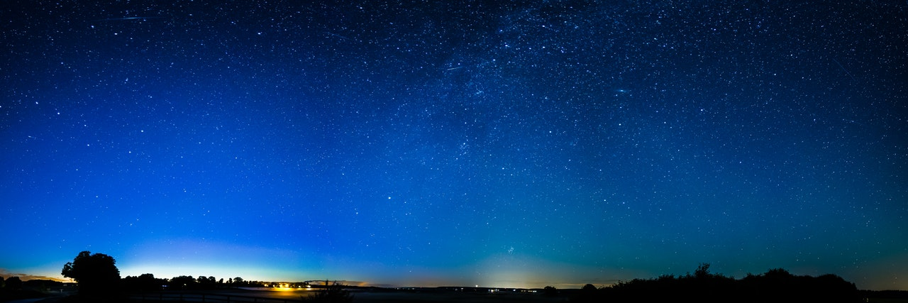 Bild des Nachthimmels